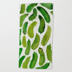 Pickles Beach Towel