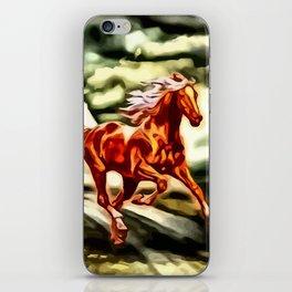 Ein Hauch von Freiheit iPhone Skin