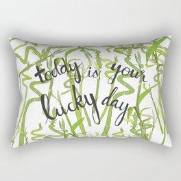 Lucky Day Rectangular Pillow