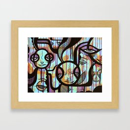 The Tribe Framed Art Print