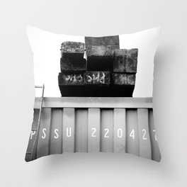 Padstow Container  Throw Pillow