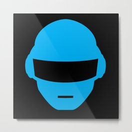 Daft Punk Thomas Bangalter Helmet Metal Print
