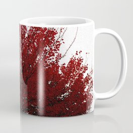 Tree on Canvas Coffee Mug