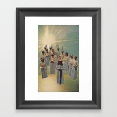 Alter of Light Framed Art Print