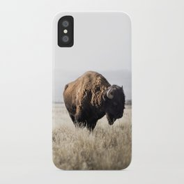 Bison stance iPhone Case