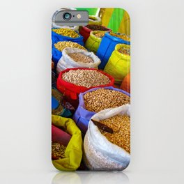 At the Market in Oaxaca, Mexico iPhone Case