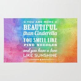 Sunshine Face Rug