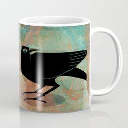 Odin's Ravens Huginn and Muninn Coffee Mug