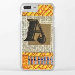 Alpha-Numero: A Clear iPhone Case