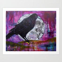 Legend of the Raven Art Print