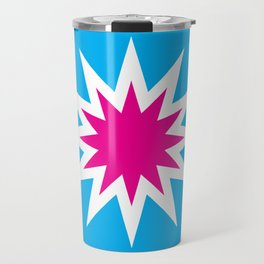 Popart Starburst Travel Mug