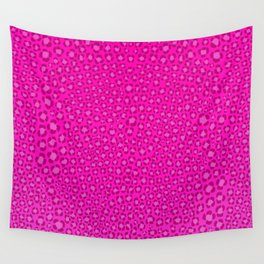 Wild Thing Hot Pink Leopard Print Wall Tapestry