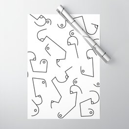 Boobies Wrapping Paper