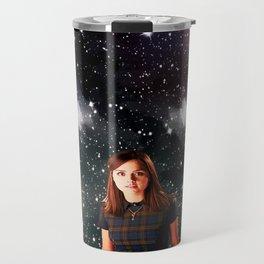 She Walked the Universe  Travel Mug