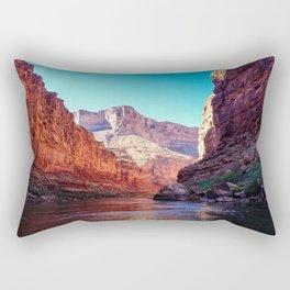 Floating the Colorado *resized* Rectangular Pillow