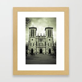 Gnashing of Teeth Framed Art Print