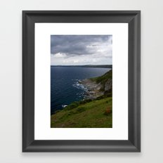 The Coming Storm Framed Art Print
