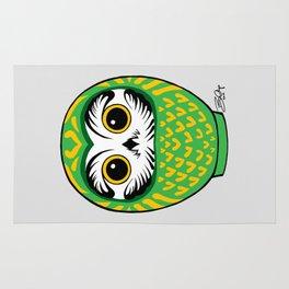 Green Fukuro Daruma Rug