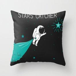 Stars Catcher Throw Pillow