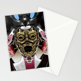 Robot Geisha V2 Stationery Cards