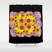 ram Shower Curtains featuring Ram  by Social Fashion Monsters
