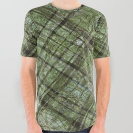 YOUNG FOREST All Over Graphic Tee