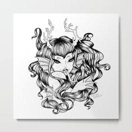 Sea Witch Metal Print