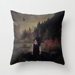 No Light Throw Pillow