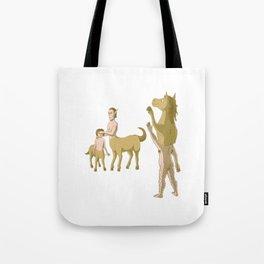 Nobody Likes Reverse Centaur Tote Bag