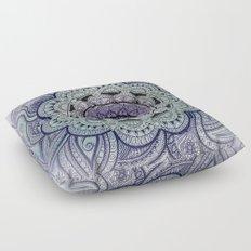 Mandala Purple Floor Pillow