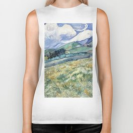 "Vincent van Gogh ""Mountainous Landscape behind Saint-Paul Hospital"" Biker Tank"