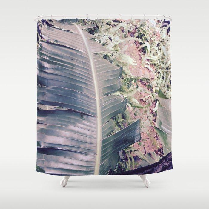 Giant Bird Of Paradise Shower Curtain By Sarahbreece
