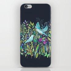 Little Garden Birds in Watercolor iPhone & iPod Skin