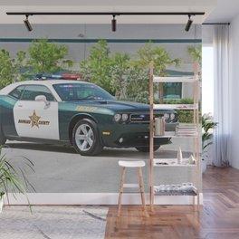 Broward Country Florida Challenger Police Highway Patrol Wall Mural