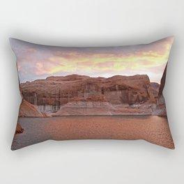 Lake Powell Evenings Rectangular Pillow