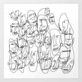 DigiLeroy 01 Art Print