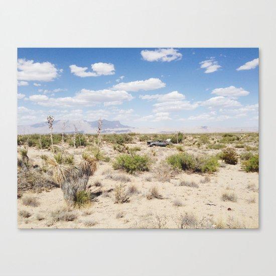 Salt Flat, Texas Canvas Print