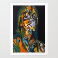 Paint Monster Art Print