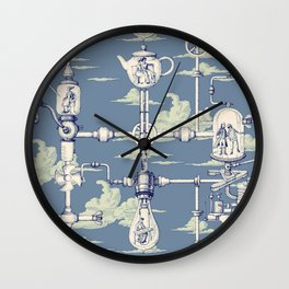 Apnea City Wall Clock