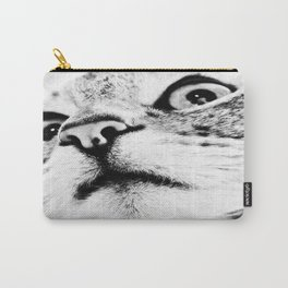 Bad looking cat ;0X Carry-All Pouch