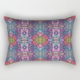 Fractal Art Stained Glass G311 Rectangular Pillow