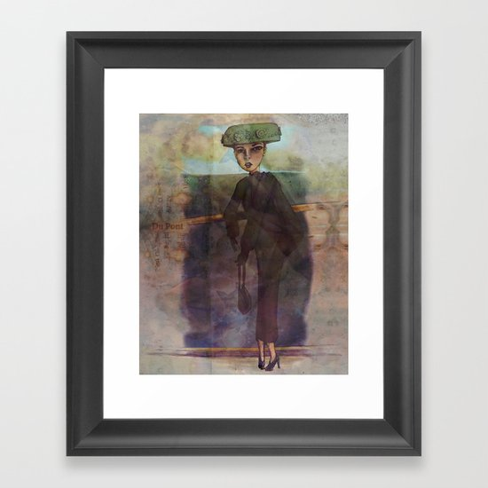 Du Pont II Framed Art Print