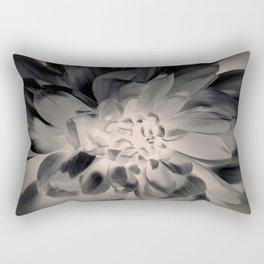 Black Dahlia Rectangular Pillow