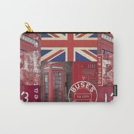 Great Britain London Union Jack England Carry-All Pouch
