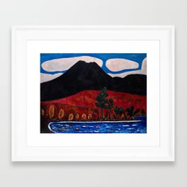 Mt. Katahdin, Autumn #2  by Marsden Hartley Framed Art Print