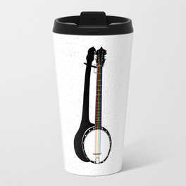 Pete's Rainbow String Banjo Travel Mug