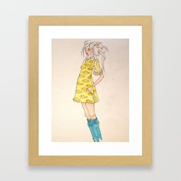 lulu Framed Art Print