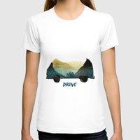drive T-shirts featuring drive by yuvalaltman