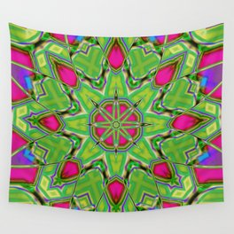 Abstract Flower AAA QQ B Wall Tapestry