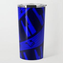 BLUE MUSIC Travel Mug